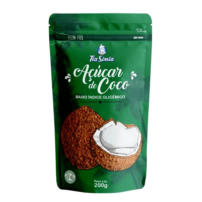 embalagem de Açúcar de Coco 200g