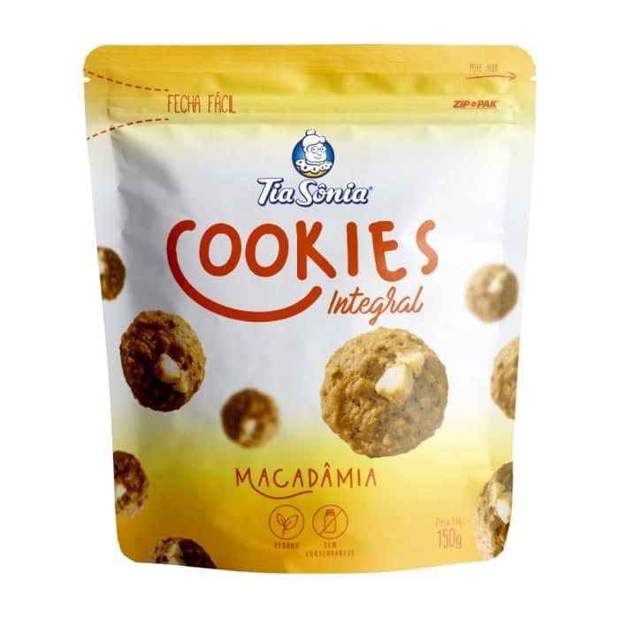 Cookie integral Macadâmia 150g